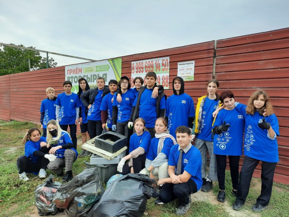 Романовские школьники присоединились к Всероссийской акции «Экодежурный по стране»