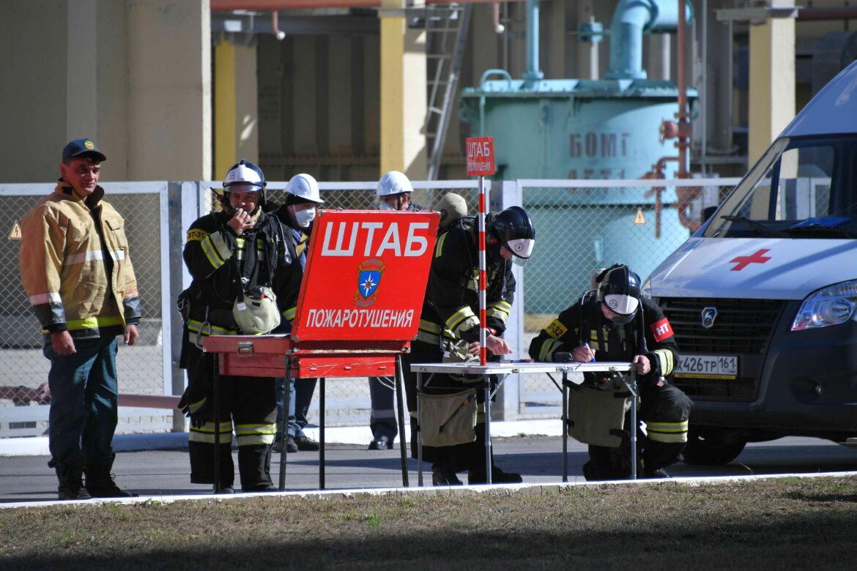 Ростовская АЭС провела противоаварийную тренировку
