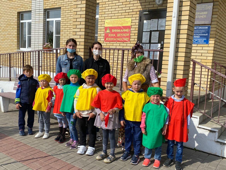 В детском саду «Аленький цветочек» провели ряд мероприятий по предупреждению детского дорожно-транспортного травматизма