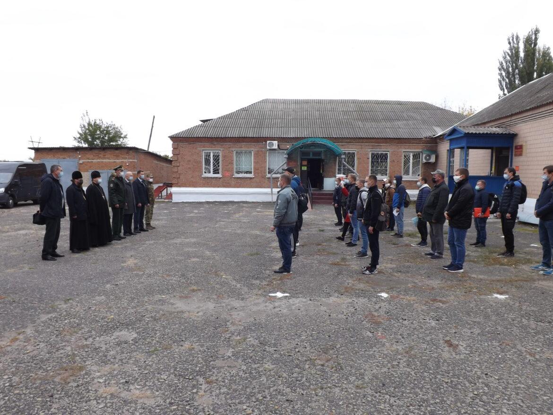 Армейские резервисты из Волгодонского района и Цимлянского районов отправились на военные сборы