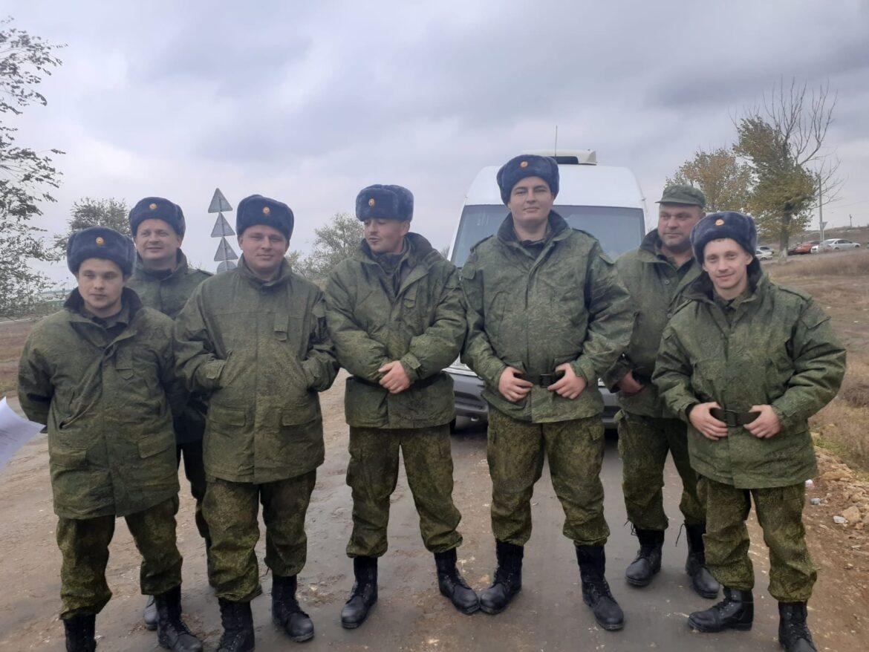 Армейские резервисты из Волгодонского и Цимлянского районов вернулись с тренировочных сборов