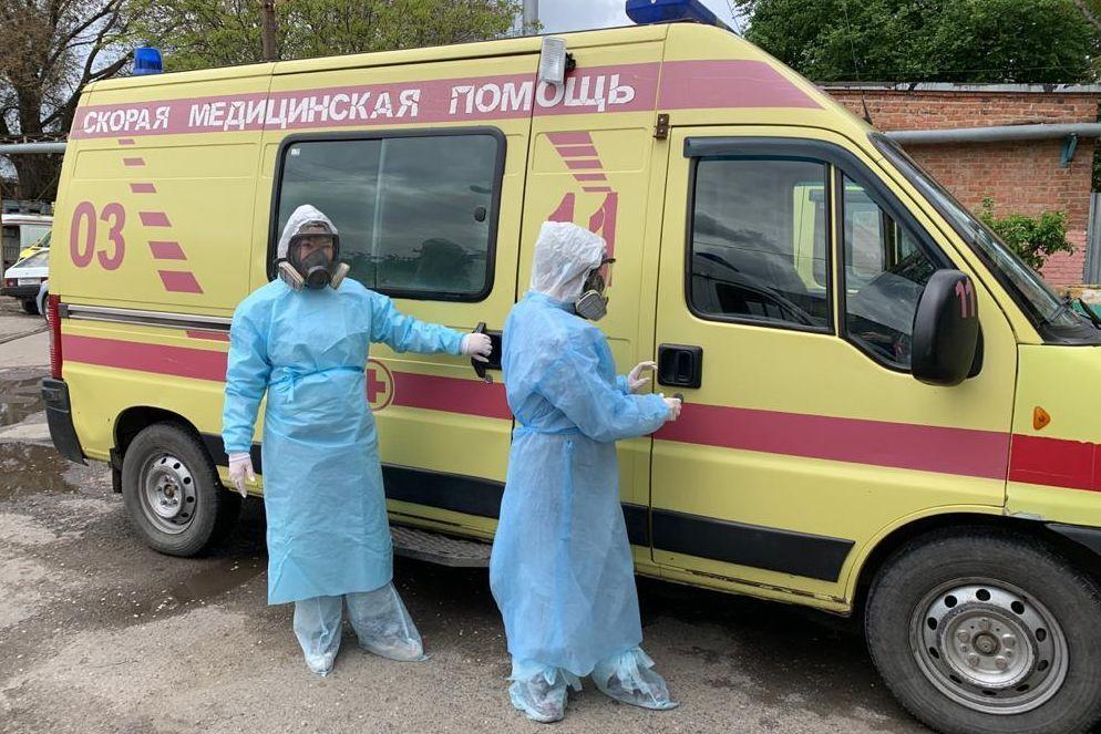 В Ростовской области открыли два новых ковидных госпиталя