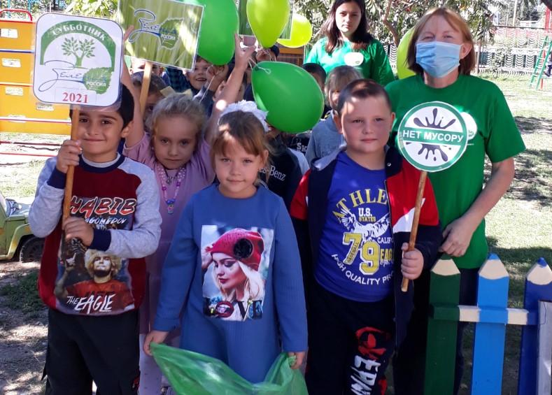Воспитанники потаповского детского сада «Родничок» присоединились к Всероссийской экологической акции